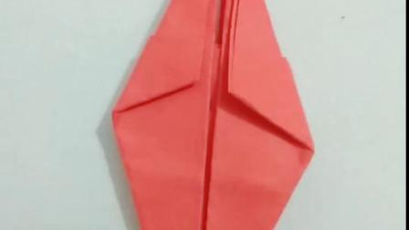 红红火火生日寿桃的折法教程!简单一看就会