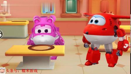 超级飞侠总动员第12期-乐迪做彩虹蛋糕给小爱吃