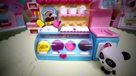 宝宝巴士玩具—小朋友喜欢玩的手工DIY,制作好吃的冰淇淋和沙冰