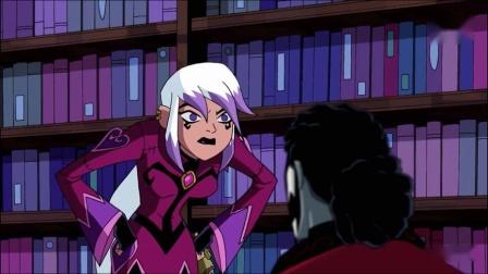 "《Ben10》:邪咒魔女来袭,抢夺""骇尸教授""的永恒魔杖!"