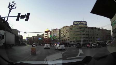 义马市乐亿佳商贸公司驱车上洛阳路途行车记录 2018年12月17日17点49分 周一
