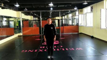 龙强武道馆,早期学员杨义琛,现就读于青岛体