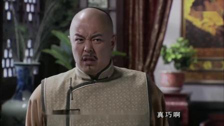 和珅掐着时间,皇上一进门正好看到他要上吊,苦肉计演得好