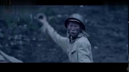 神枪手枪法太逆天-一发就打掉了小鬼子投掷的手雷-太厉害了-《血战残阳》!