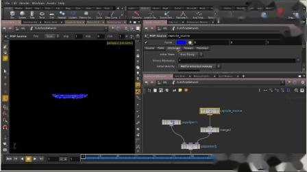 Houdini粒子系统全面核心训练视频教程 09 粒子碰撞基础