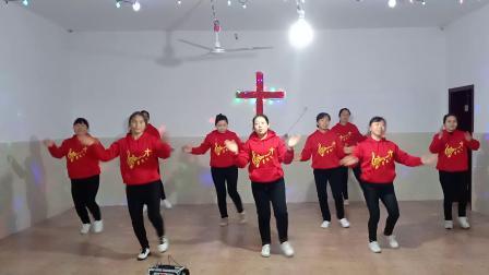 20181222圣诞节舞蹈《跟我一起来》分宜双林江东教会