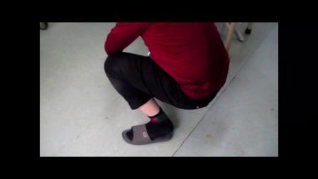 皮下留置针疗法肩针治疗下肢多部位疼痛