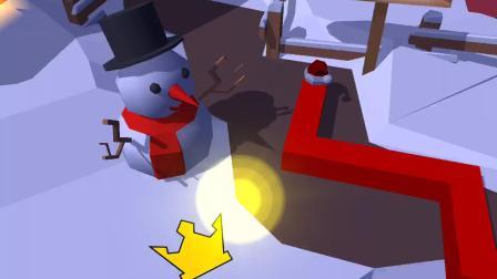 【草草实况】跳舞的线 圣诞节派对 森林路线(含彩蛋)满钻满冠通关视频