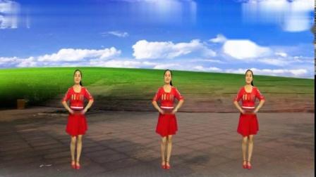 最新热门广场舞《红红火火》简单好听又好看!