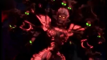 《超兽武装》超兽神七合体VS鬼王,超兽战队终于完整了