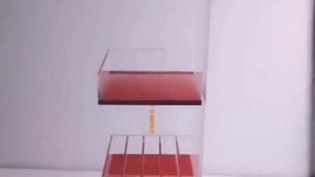 国明货架LOGO打标定制化妆品展示架亚克力展架