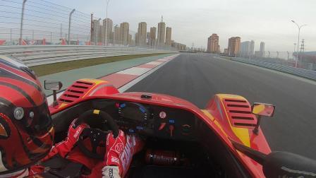 天津V1赛车场刘泽煊Radical SR3圈速记录1分06秒