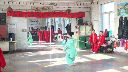 文圣区太极研究会2018年年会【老师剑】