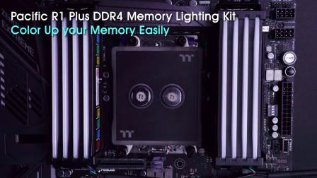 Pacific R1 Plus DDR4 Memory Lighting Kit