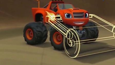 旋风战车队:克莱塞制造的超级奶酪大球要压飚速了,速度点啊