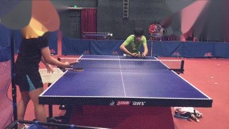 直板反手拧拉#乒乓球训练