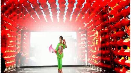 广场舞--红红火火闹新年·吴建芬