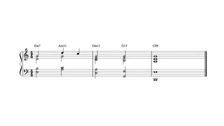 減七和弦的「神秘添加物」?以及另一種酷炫的結尾法!