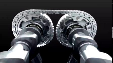 汽车发动机的工作原理动画