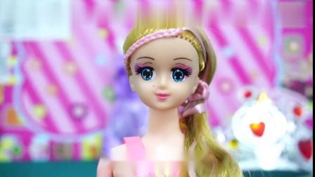 宝贝玩具乐园-这发型的芭比娃娃漂亮吗