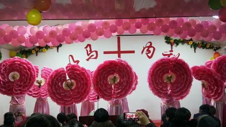 临沂张王庄教会耶稣基督舞蹈这一生最美的祝福扇子舞