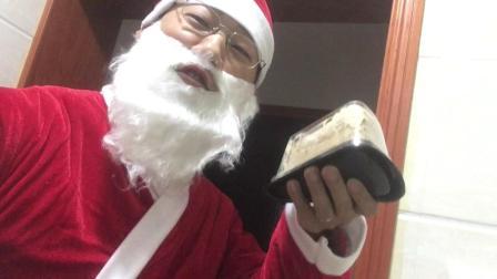 我最水的一次装扮圣诞老人!
