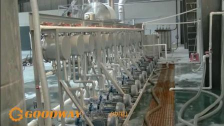 淀粉精制浓缩设备,淀粉旋流器工作原理 固德威薯业