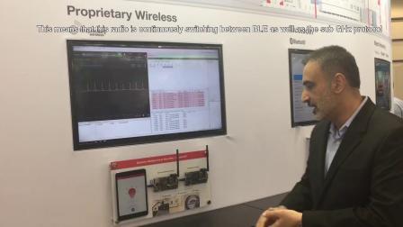 Proprietary Wireless Demo at Embedded World 2018