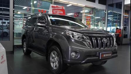 新疆粤和汽车产业园:二手车2017款丰田普拉多3.0T高配柴油版