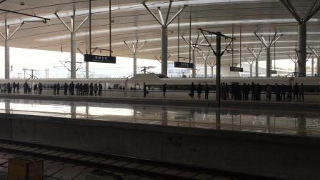 G1634次 福州-上海虹桥 进杭州东站 CRH380A重联