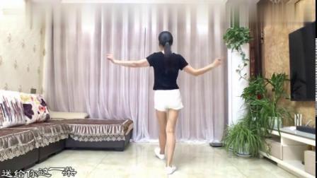 16步鬼步舞《红玫瑰》分解背面简单好学