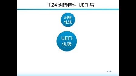 1.24 纠错特性-UEFI与BIOS比较-计算机组装与维护-理论部分-Windows 与 Linux 桌面系统管理