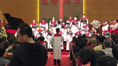 主荣耀至圣-锡安堂联合小组唱2018平安夜