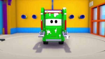 汽车城:汤姆宝贝帮忙爸爸洗车吧!
