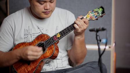 Moore Bettah-南太平洋上的明珠-ukulele-Corey