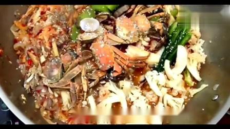 海鲜大杂烩的家常做法,好吃