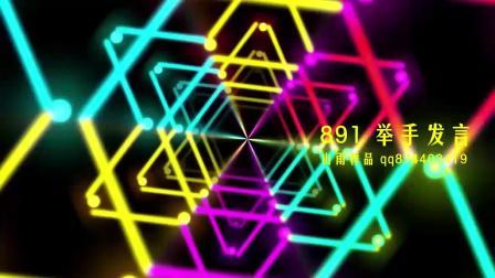 891 儿童歌曲 - 举手发言 情景剧背景 六一儿童节晚会led视频素材
