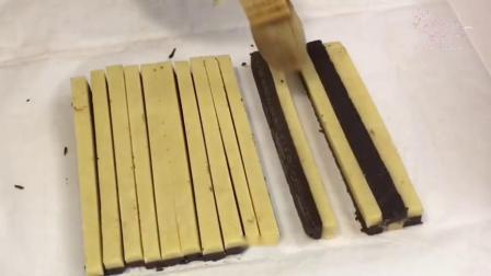 你会做棋格饼干吗?简单好学不复杂,学会做给家人吃