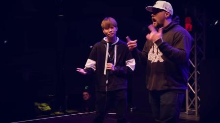 HISS vs SLIZZER - Grand Beatbox SHOWCASE Battle 2017 - 1-4 Final