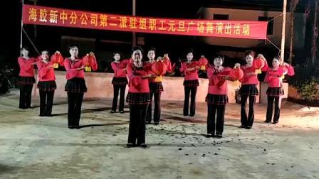南林农场新一职工2019元旦广场舞演出
