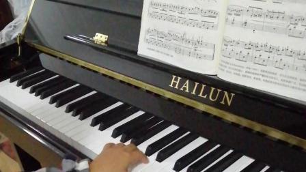 yiyi钢琴基础教程 四小天鹅舞曲 钢琴曲20181227