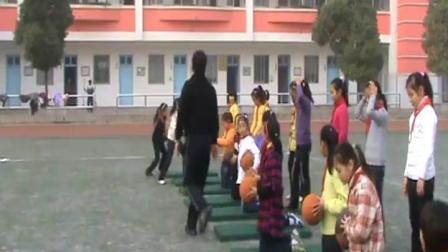 《投掷》苏教版体育五年级,王革新
