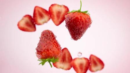 1263918_草莓果汁食品广告素材