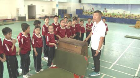 《跳上跪撐跪跳下科學版四年級體育,姜海