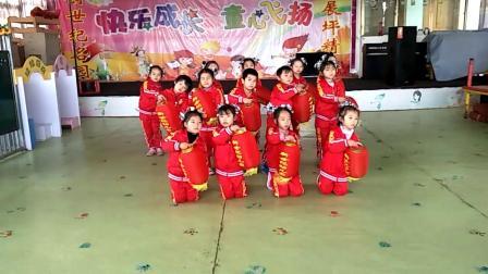 抚州市临川区展坪幼儿园2019年庆元旦、迎接舞蹈;红红的红灯笼 (1)