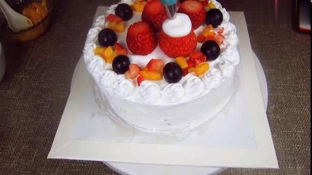 一口蒸锅就能做生日蛋糕!干净卫生做法简单,大人小孩都说好吃!