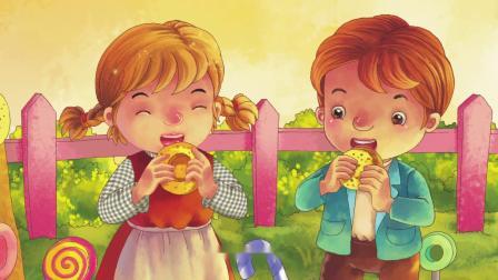 可爱动物(故事)-糖果屋历险记