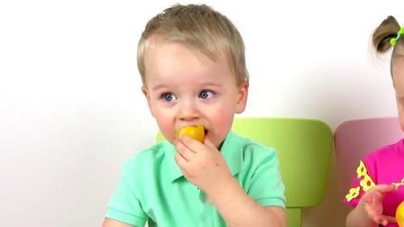 (英语教学)儿童学习颜色和水果名称