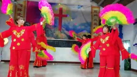 2018年基督教圣诞节舞蹈《普天同庆》