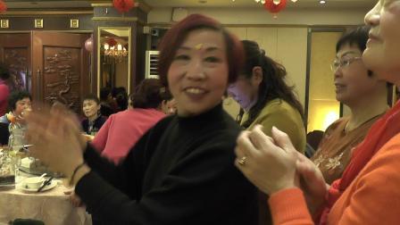 2018年老年大学民族舞班联欢会,水兵舞